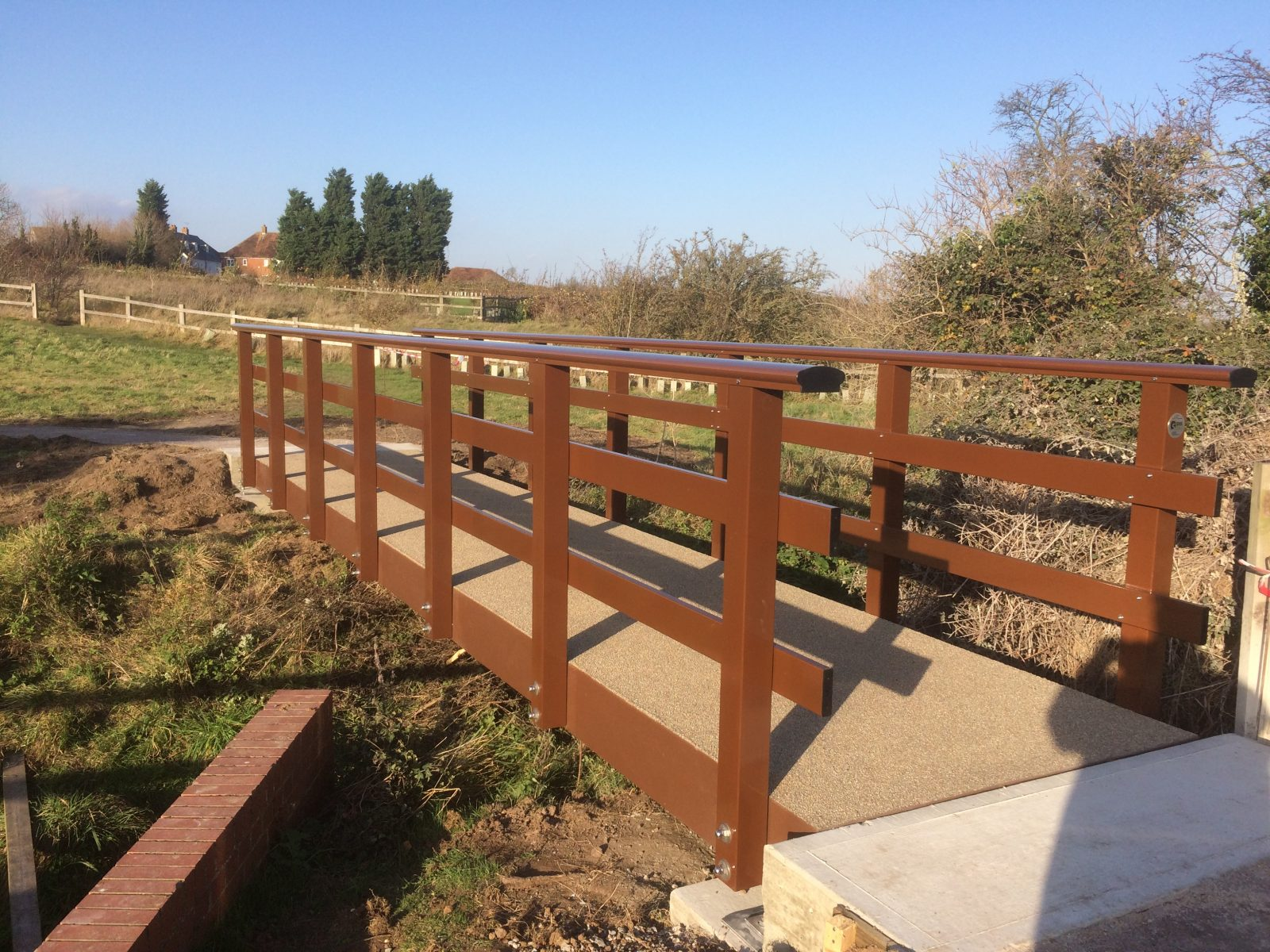 FRP Composite Bridges - Sarum Hardwood Structures, Timber Bridges