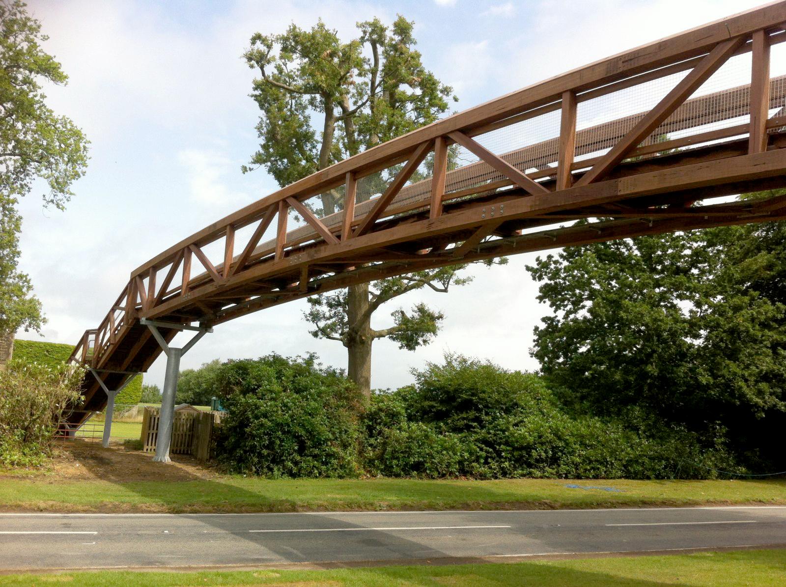 Truss Girder Bridges - Sarum Hardwood Structures, Timber